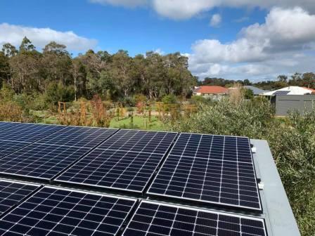 Solar installation Cowaramup
